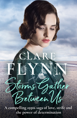 Clare Flynn - Storms Gather Between Us book
