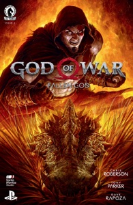 God of War: Fallen God #2 by Chris Roberson, Tony Parker & Dave Rapoza Book Cover