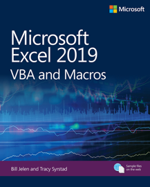 Microsoft Excel 2019 VBA and Macros, 1/e