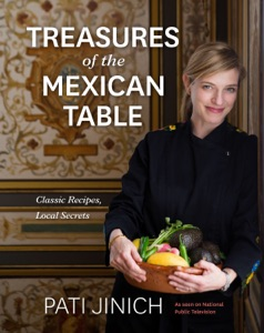 Pati Jinich Treasures of the Mexican Table Book Cover