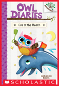 Eva at the Beach: A Branches Book (Owl Diaries #14)