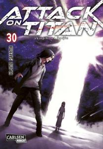 Attack on Titan 30 Buch-Cover