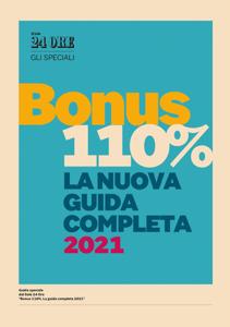 Guida Bonus 110% - La nuova guida completa 2021 Libro Cover