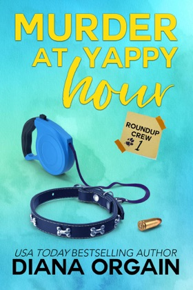 Murder at Yappy Hour book cover