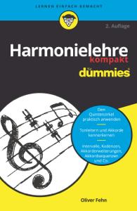Harmonielehre kompakt für Dummies Buch-Cover