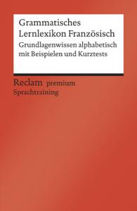 Grammatisches Lernlexikon Französisch Buch-Cover