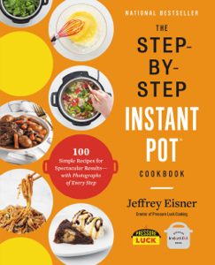 The Step-by-Step Instant Pot  Cookbook Book Cover
