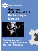 Gammes de Guitare Pentatonique Mineure