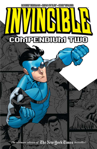 Invincible Compendium Vol. 2 Book Cover