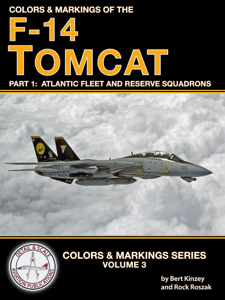 Colors & Markings of the F-14 Tomcat Libro Cover