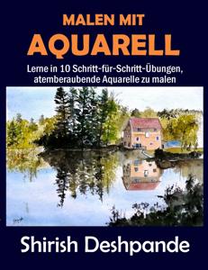 Malen mit Aquarell Buch-Cover