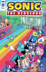 Sonic the Hedgehog #35 Book Cover