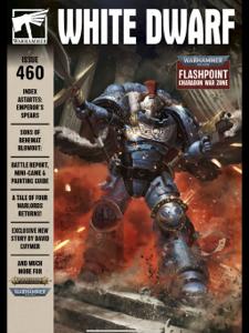 White Dwarf 460 Couverture de livre