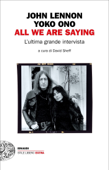 All we are saying Book Cover