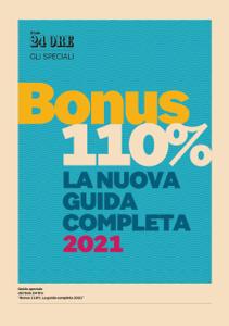 Guida Bonus 110% - La nuova guida completa 2021 Copertina del libro