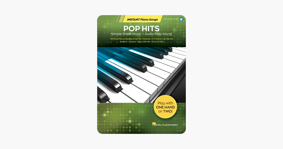 ‎Pop Hits - Instant Piano Songs