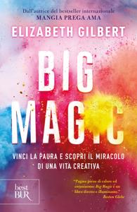 Big Magic Copertina del libro