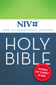 NIV, Holy Bible, Red Letter Edition Book Cover
