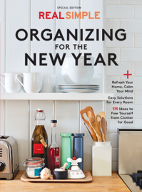 Real Simple Organizing in the New Year book