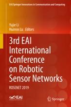 3rd EAI International Conference on Robotic Sensor Networks