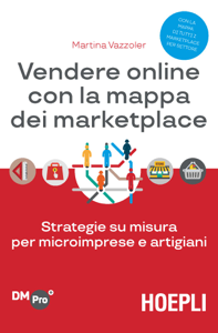 Vendere online con la mappa dei marketplace Libro Cover