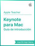 Guía de introducción de Keynote para macOSHighSierra