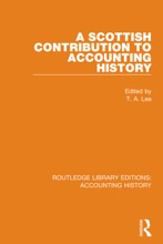A Scottish Contribution To Accounting History