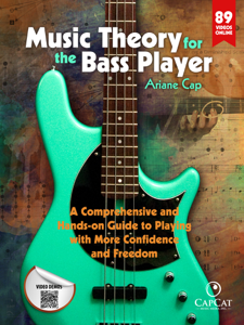 Music Theory for the Bass Player Libro Cover