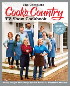 The Complete Cook's Country TV Show Cookbook Includes Season 14 Recipes Book Cover