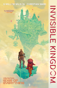 Invisible Kingdom Volume 2 Libro Cover