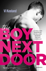 The boy next door (versione italiana) Copertina del libro
