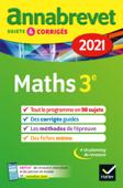 Annales du brevet Annabrevet 2021 Maths 3e