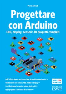 Progettare con Arduino Copertina del libro