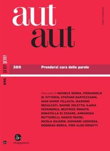 Aut Aut 388 Book Cover