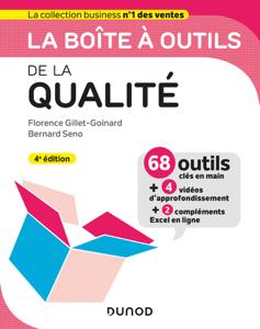 La boîte à outils de la qualité - 4e ed. Couverture de livre