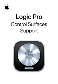 Control Surfaces Support Guide for Logic Pro