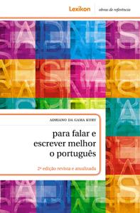 Para falar e escrever melhor o português Libro Cover