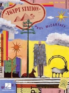 Paul McCartney - Egypt Station Songbook Book Cover