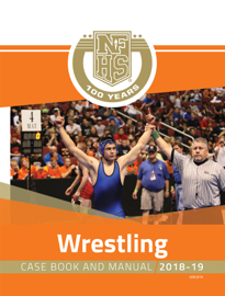 2018-19 Wrestling Case Book and Manual