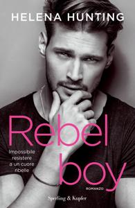 Rebel boy Libro Cover
