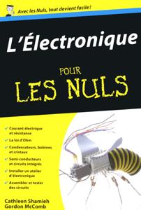 L'électronique Poche pour les Nuls La couverture du livre martien
