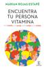Marian Rojas Estapé - Encuentra tu persona vitamina portada