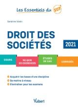 Les Essentiels Du Sup: Droit Des Sociétés 2021