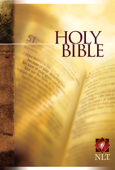 Holy Bible Text Edition NLT Book Cover