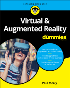 Virtual & Augmented Reality For Dummies Libro Cover