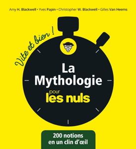 La mythologie pour les Nuls - Vite et Bien La couverture du livre martien