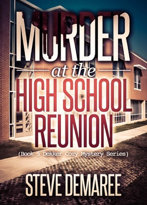 Murder at the High School Reunion book cover