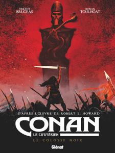 Conan le Cimmérien - Le Colosse noir La couverture du livre martien