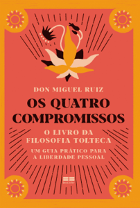 Os quatro compromissos Capa de livro