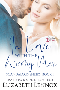 In Love with the Wrong Man Book Cover